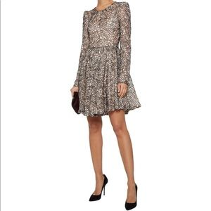MILLY-Aria Cored Lace Mini Dress (Size:0)